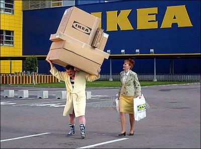 IKEA запретила прятки в своих магазинах